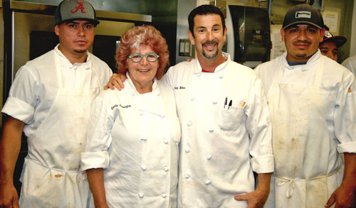 mhf chef scott miller with sandy sonnenfelt and team 2