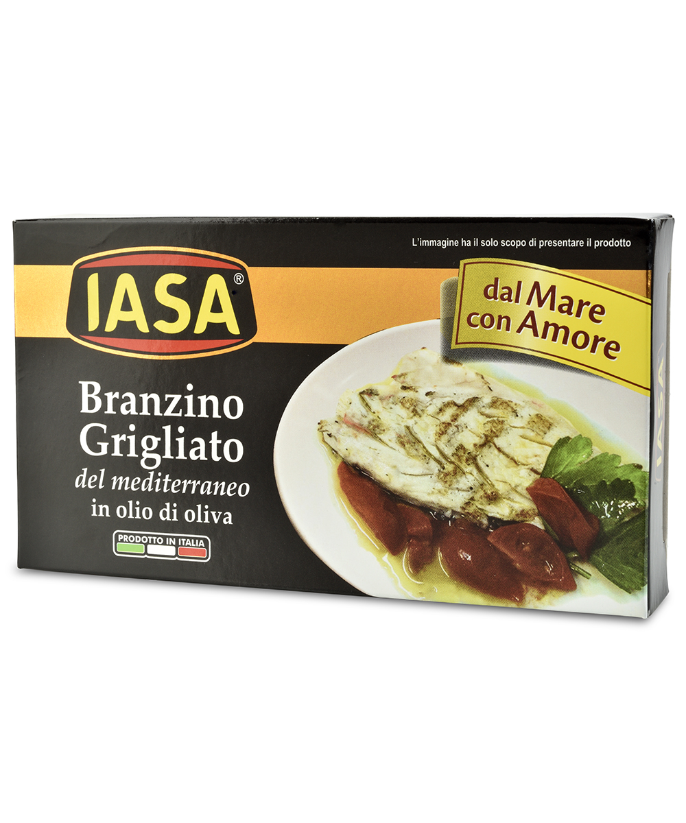 iasa grilled branzino in olive oil