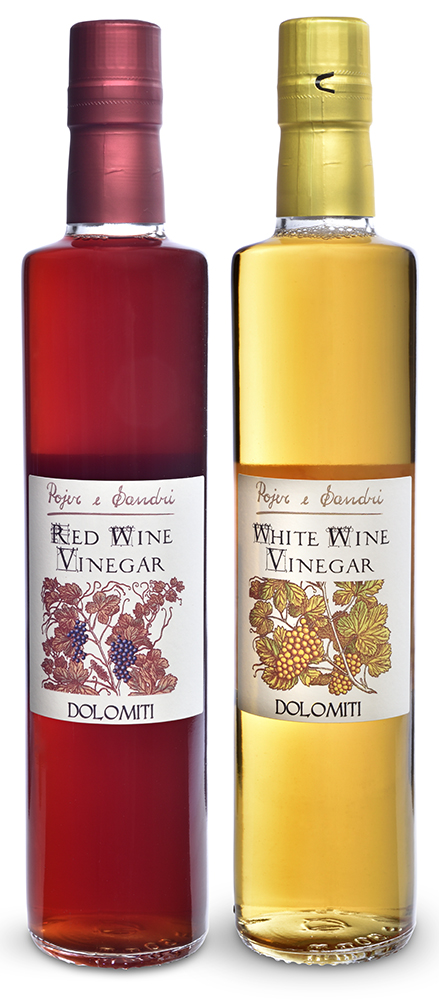 pojer e sandri wine vinegars 500ml group