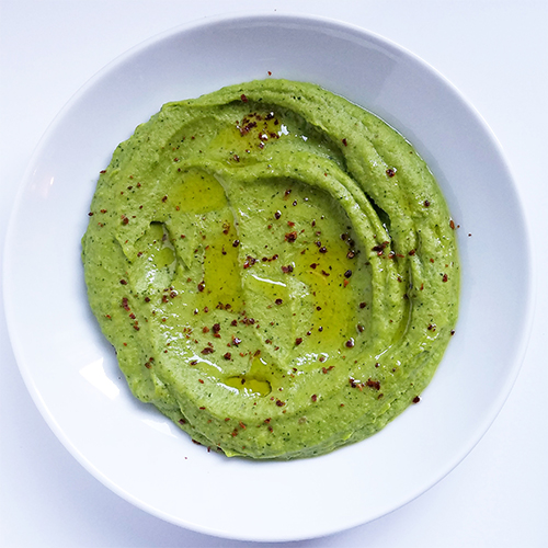pea puree with marash chili 05ee5cc0127177bb058caf3a887a6d2d